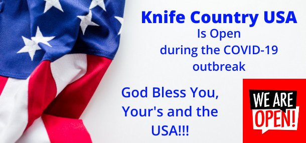 Knife Country, USA is open during the COVID-19 outbreak