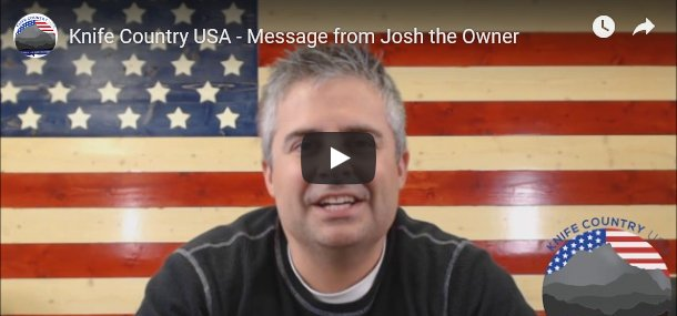 Message from Josh the Owner
