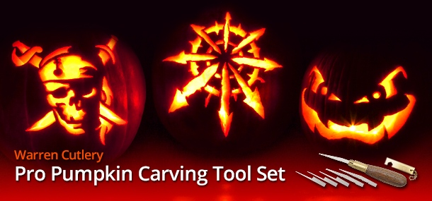Warren Cutlery Pro Pumpkin Carving Tool Set