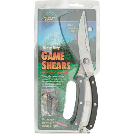 Outdoor Edge SC100 10 Inch Game Shears Scissors with Stainless Construction – Additional Image #4