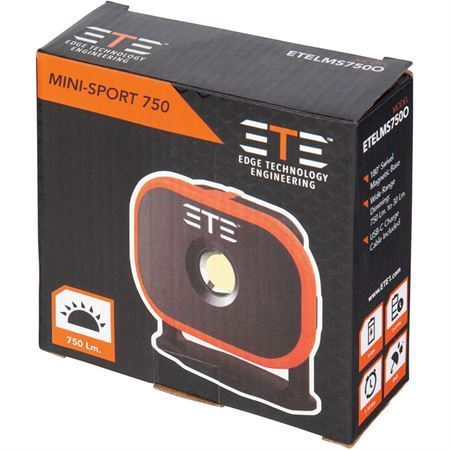 ETE Knives LMS750O Mini Sport Flood Light – Additional Image #2