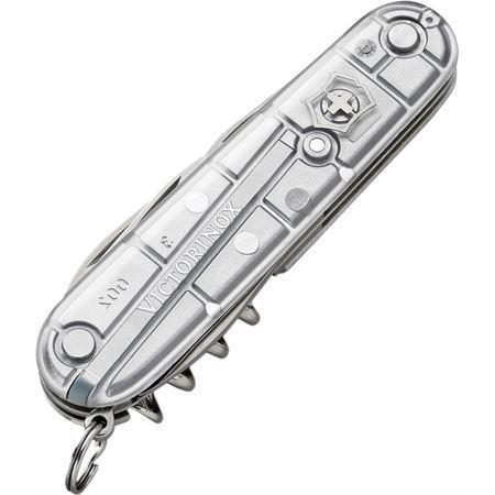Swiss Army 54753 Silver Tech Spartan Silver Folding Pocket