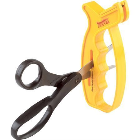 AC 60 Knife and Scissors Sharpener with Yellow Plastic Handle – Additional Image #3