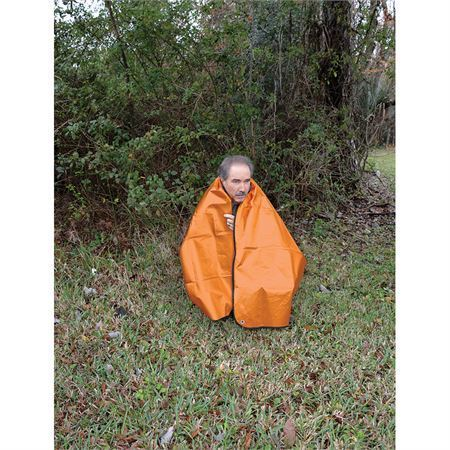 Ultimate Survival 02422 Survival Blanket Orange 2.0 with 3-Ply Layer Construction – Additional Image #3