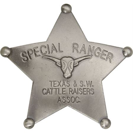 Badges of the Old West 3025 Special Ranger Badge