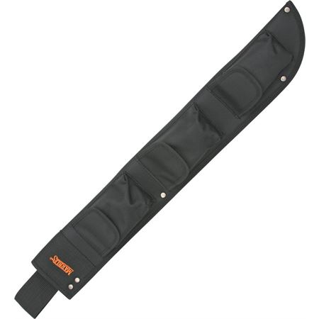 Marbles 12718S Machete Belt Knife Sheath with Heavy Black Nylon Construction