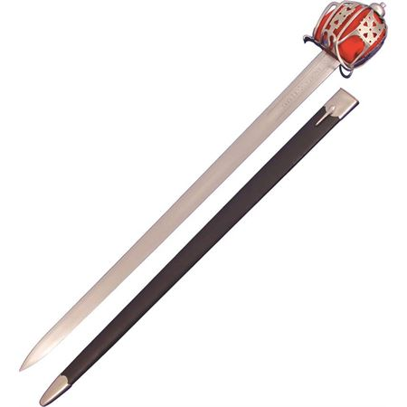 Paul Chen 2002 Basket Hilt Broadsword with Rayskin Handle