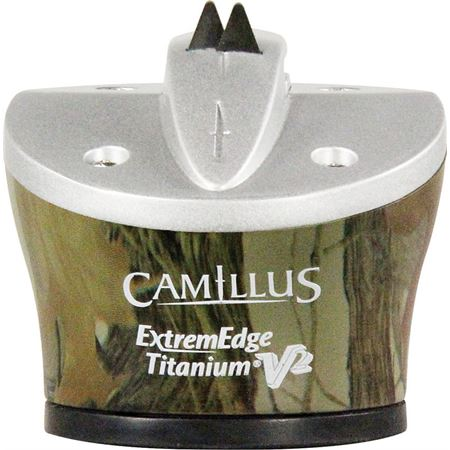 Camillus 18725 ExtremEdge Knife Sharpener with Realtree Camo Finish ABS Corrosion-Resistant Housing