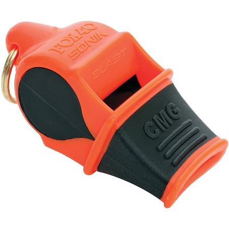 Fox 3308 Sonik Blast CMG Emergency Whistle with Black Accents