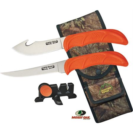 Outdoor Edge WB4C Wild Combo Fixed Blade Knife