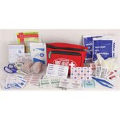 First Aid Kits 130 First Aid Hiker Survival Kit with Adjustable Waist Band