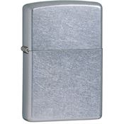 Zippo Lighters 10207 Zippo Lighter with Street Chrome Finish