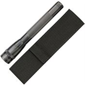 Maglite SP2209H Gray   2-Cell AA LED Mini Mag w/ Holster