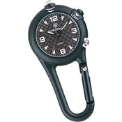 Smith & Wesson Knives W36BLK Carabiner Watch
