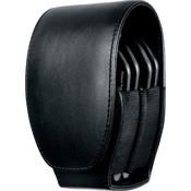 ASP Tools 56160 Black Leather Open Top Handcuff Case