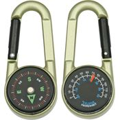 Explorer Compass 23 Carabiner Compass with Bronze Composition Casing