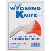 Wyoming Tools 5 Replacement Fixed Blade Knife