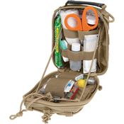 Maxpedition Gear 226K FR-1 Pouch Khaki with High Tensile Strength Nylon Webbing