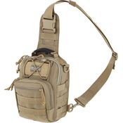 Maxpedition 419K Remora Gearslinger Khaki with High Tensile Strength Nylon Webbing
