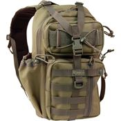Maxpedition 431KF Khaki/Foliage Sitka Gearslinger with Top and Side Handle