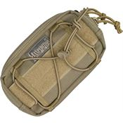 Maxpedition Gear 8001K Khaki JANUS Extension Pocket with High Tensile Strength Nylon Webbing