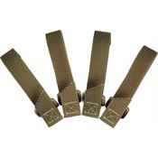 Maxpedition Gear 9903K Khaki TacTie Strap 3 Inch with High Tensile Strength Nylon Webbing