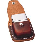 Zippo Lighters 17020 Lighter Pouch Brown Leather