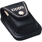 Zippo Lighters 17050 Lighter Pouch Black Leather