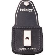 Zippo 17060 Lighter Pouch Black Leather with Clip