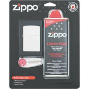 Zippo Lighters 19305 ORMD All-In-One Kit with Chrome Finish Lighter
