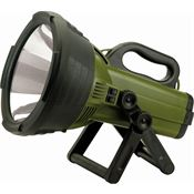 Cyclops Lights 07248 Thor Colossus Survival Spotlight with Black & Green Rubber Housing