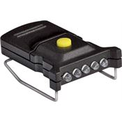 Cyclops 07791 Micro Mini LED Hat Clip Light Black Housing