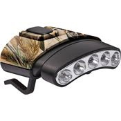 Cyclops 07844 Tilt 5 LED Hat Clip Light with Camouflage Housing