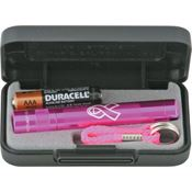 Maglite Flashlight 21701 Breast Cancer Solitaire