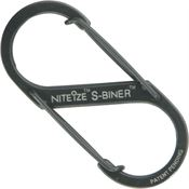 Nite Ize 00737 Black S-Biner with Stainless Steel Construction
