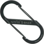 Nite Ize 00827 Black S-Biner #5 with Stainless Steel Construction