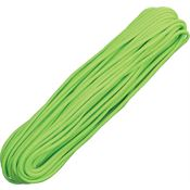Parachute Cords 009H Neon Green 100 ft. Length Parachute Survival Nylon Cord