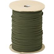 Parachute Cords 102S OD Green Nylon Construction 1,000 ft. Length Parachute Cord