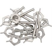 ASP Tools 56523 Standard Pentagon Handcuff Keys with Steel Construction