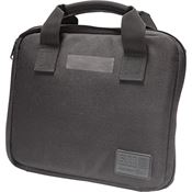 5.11 Tactical 58724BK Black Single Pistol Case with 1050D Water Resistant Nylon Construction
