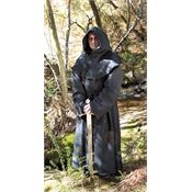 Assassin's Creed 100298BLK Black Monks Robe with Rough Textured Fabric