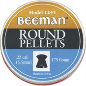Beeman 1245 .22 Caliber All Purpose Round Pellets