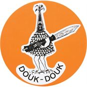 Douk-Douk Knives S Sticker