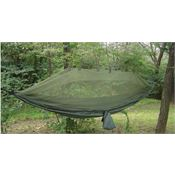 Snupak Outdoor Gear 61660 Olive Jungle Hammock with Strong Parachute Nylon Material
