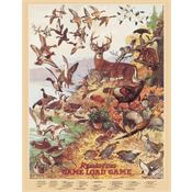 Tin Sign 1139 Remington Game Load Game Rich Vibrant Colors and Heavy Embossing Tin Sign