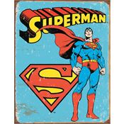Tin Sign 1335 Superman - Retro Tin Sign