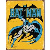 Tin Sign 1357 Batman - Retro Rich Vibrant Colors and Heavy Embossing Tin Sign