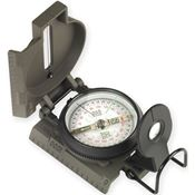 NDUR 51500 Lensatic Compass with Black Metal Case