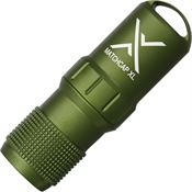 Exotac Fire Starters 1200OD Olive Drab Matchcap XL Survival Match Case With Strikers
