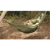 Snugpak 61640 Olive Tropical Hammock Zippered storage pouch with carrying handle